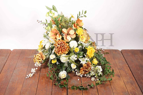Large floral display
