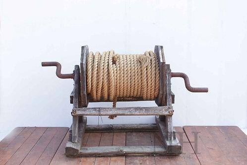 Wooden winch