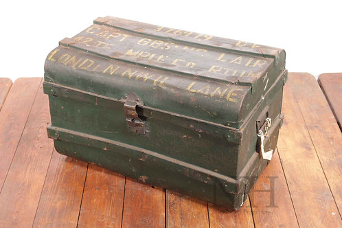 Tin trunk