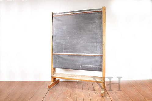 Large school revolving blackboard