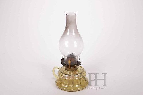 Brass hans lamp