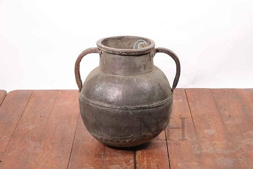 Copper amphora