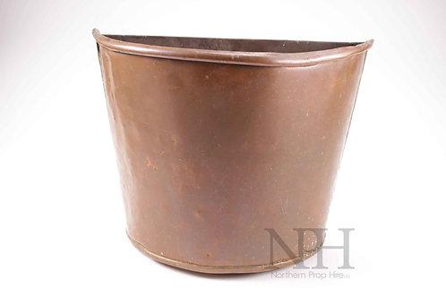 Half round pot
