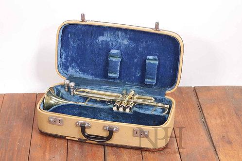 Cased trumpet