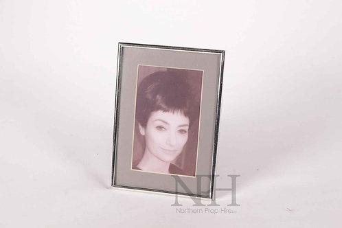 Fine silver photo frame