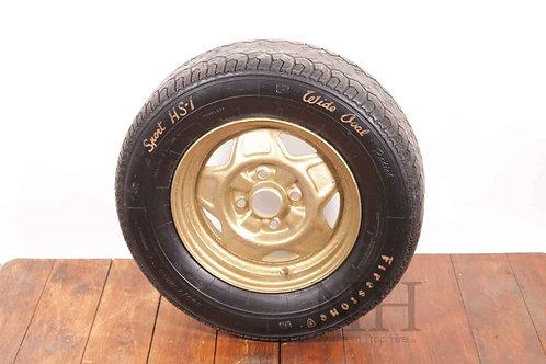 Car alloy + tyre