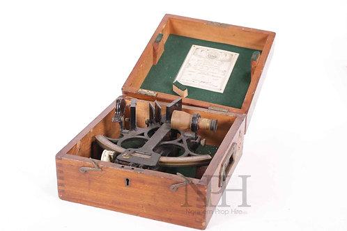 Cased sextant