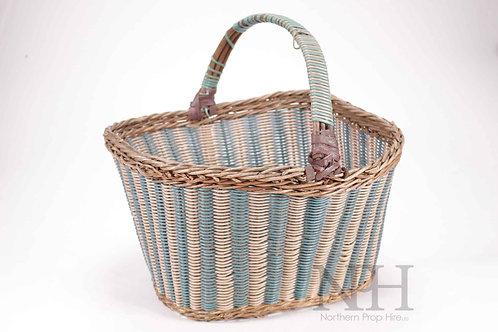 Blue & White Hand basket