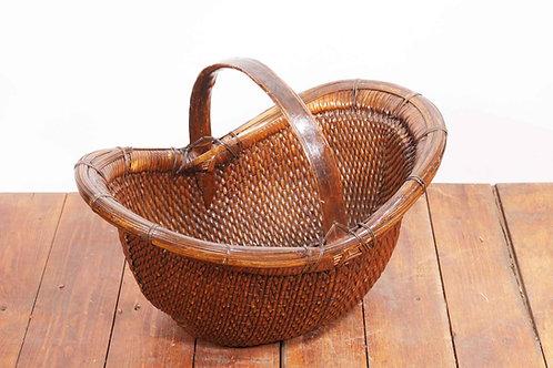Hard wooden basket