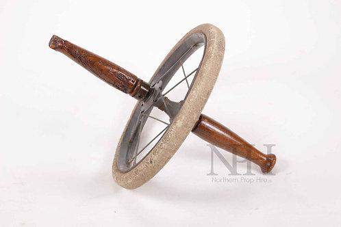 Vintage exercise wheel