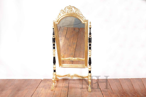 Gold chapel mirror
