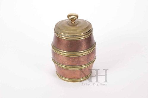 Copper tobacco jar