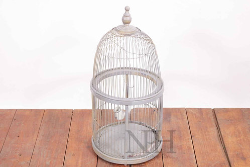 Gray domed cage