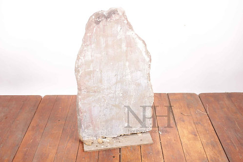 Lightweight old gravestone