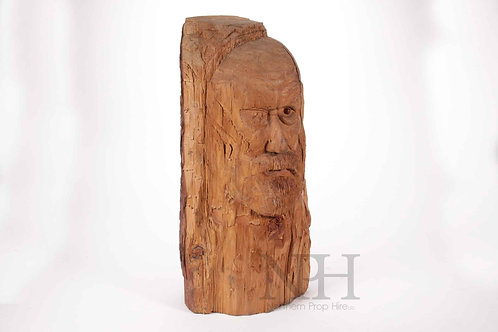 Head carving