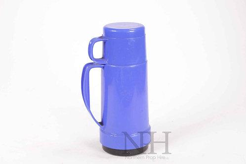 Blue flask