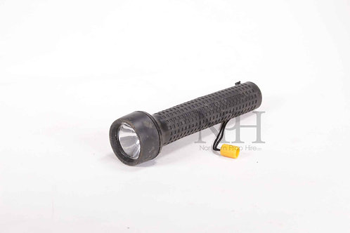Black rubber torch