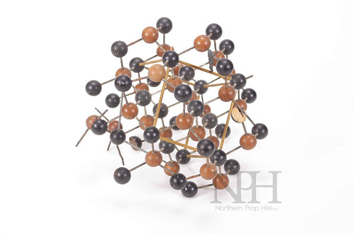 Atomic structure display