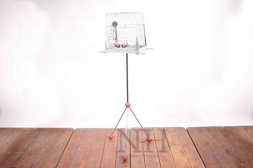 Budgie cage on stand vintage