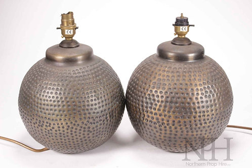 Twin ball lamps