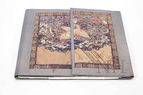 Vintage oriental blotter