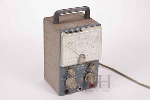 Valve voltmeter