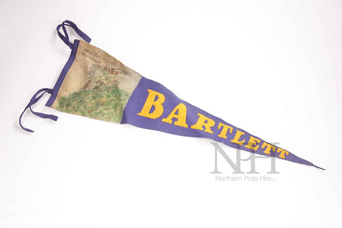 Bartlett pennant