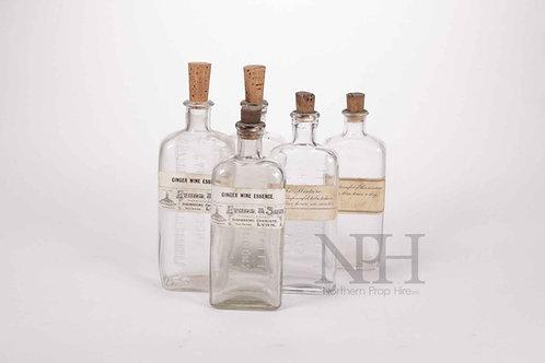 Chemist bottles
