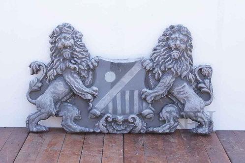 Large lion shield