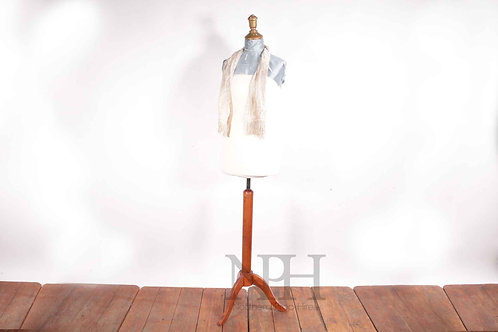 Wooden mannequin stand