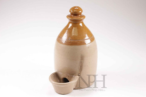 Antique water feeder poultry