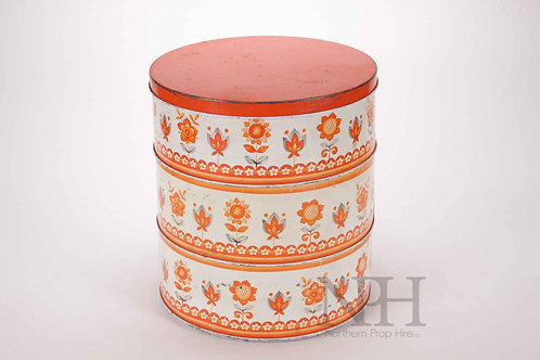 Stacking cake tin