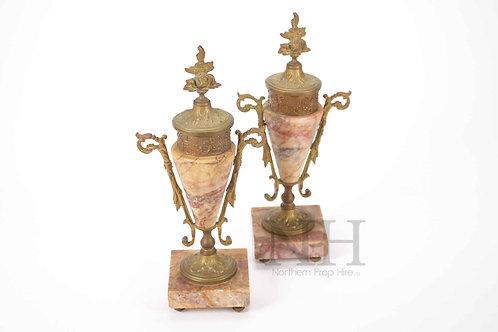 Stone & Glit vase