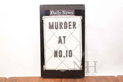 Newspaper board