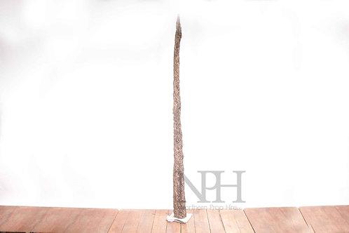 Tall wooden ornament