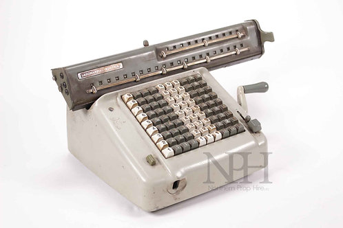 Adding machine Italian