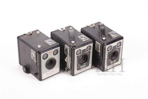 Box brownie cameras
