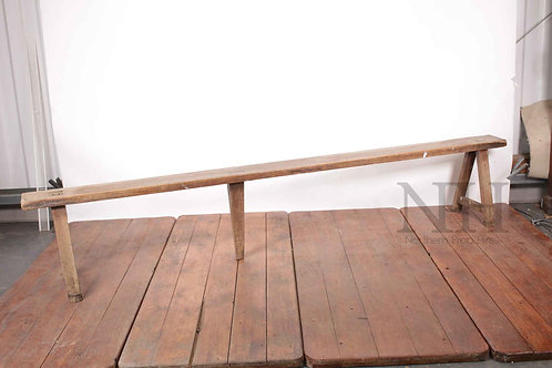 Bench with splayed legs 19th century