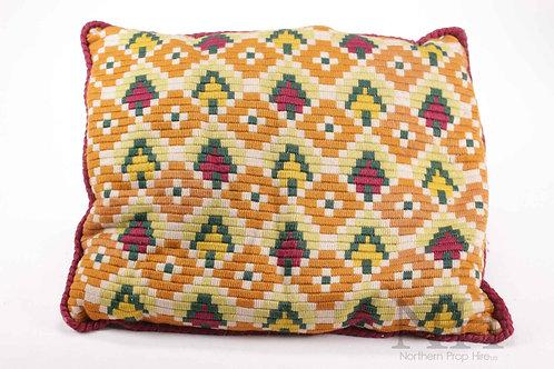 Patterned cushion