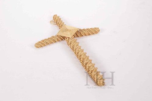 Straw cross
