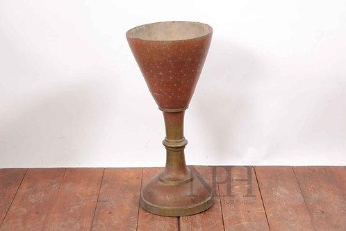 Large copper goblet