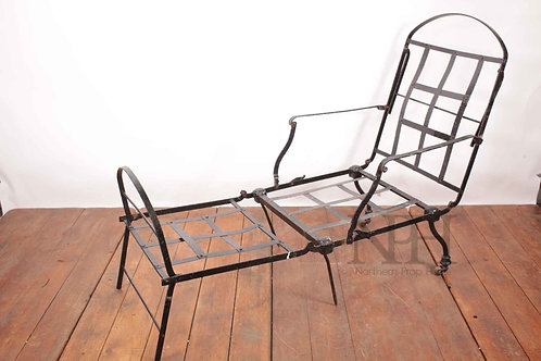 Antique Folding camping bed