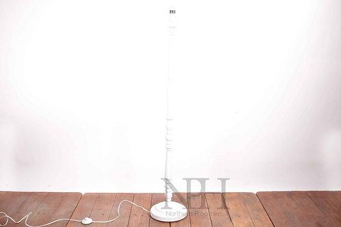 White standard lamps