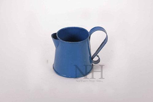 Enamel blue jug