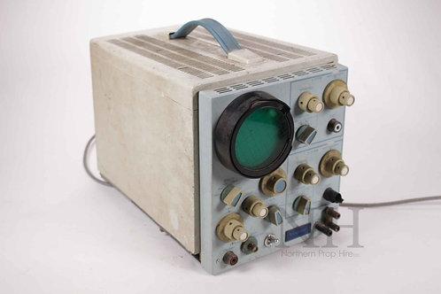 Vintage oscilloscope