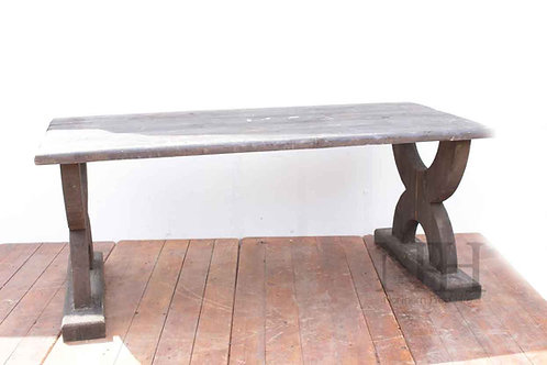 X frame table medieval