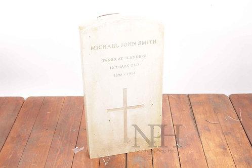 Lightweight gravestone