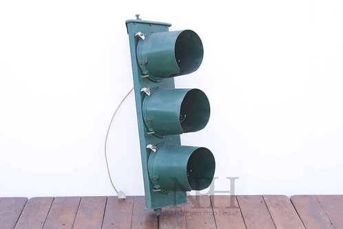 Vintage uk traffic lights