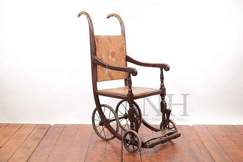 Wooden wheelchair