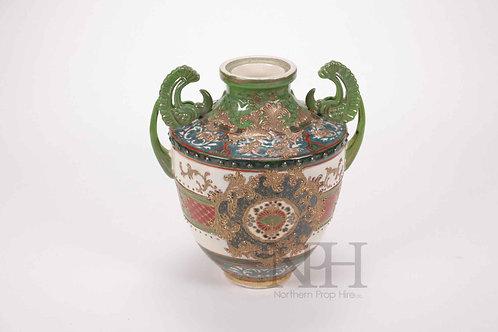 Chinese green vase